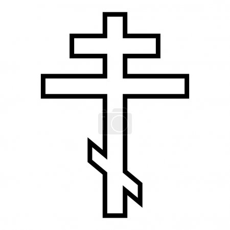 Religious orthodox cross