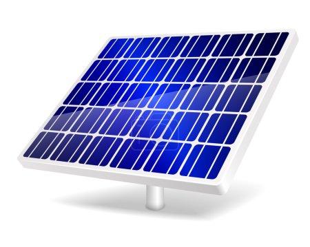 Illustration pour Illustration vectorielle de l'icône Panneau solaire. PSE10 . - image libre de droit