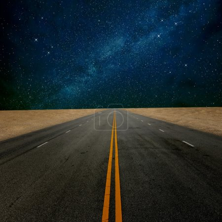 Photo for Road to star - Royalty Free Image