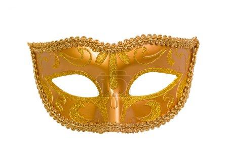 Photo pour Masque de carnaval isolé sur fond blanc - image libre de droit