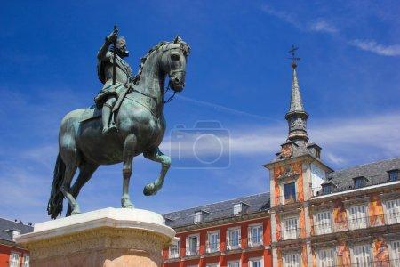 Statue of King Philips III, Madrid