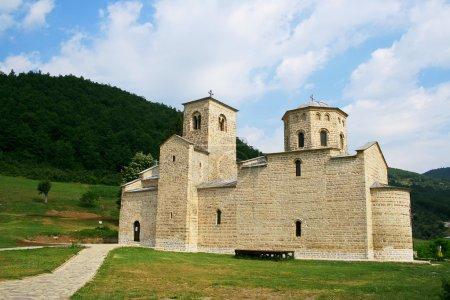 Monastery Djurdjevi Stupovi