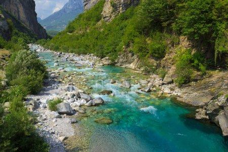 Mountain river in Albania
