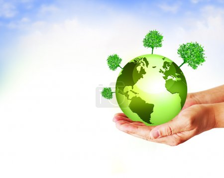 Photo pour Concept d'énergie environnementale - image libre de droit