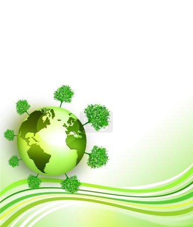Environmental energy concept card