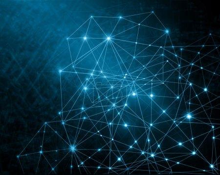 Photo pour Contexte technologique, à partir de la série meilleur concept d'entreprise mondiale - image libre de droit