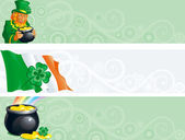 Banners for St Patrick's Day