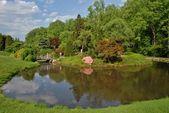 Brookeside zahradní stezka v Marylandu, usa