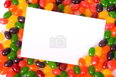 Jelly Bean Note-card