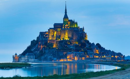 Photo for Le Mont Saint Michel, an UNESCO world heritage site in France - Royalty Free Image
