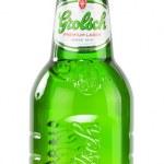 Постер, плакат: Bottle of Grolsch beer isolated on white