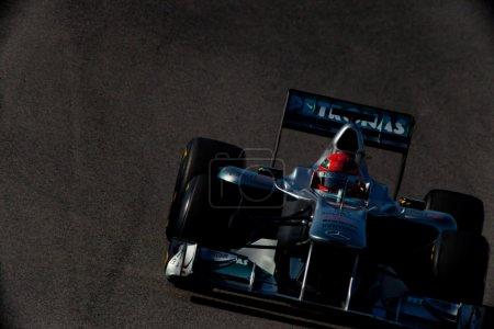 Команды Mercedes Формулы 1 Михаэль Шумахер