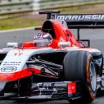 Постер, плакат: Team Marussia F1 Jules Bianchi 2014