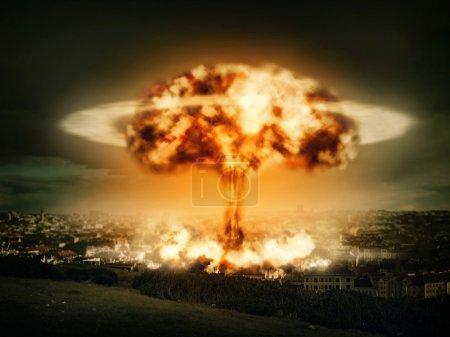 explosion de la bombe nucléaire