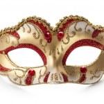 Carnival mask isolated on white background...