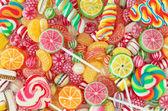 """Постер, картина, фотообои """"смешанная красочная фруктовая конфета"""""""