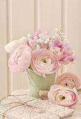 """Постер, картина, фотообои """"розовые цветы"""""""