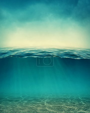 Abstract underwater background