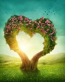 Srdce ve tvaru stromu