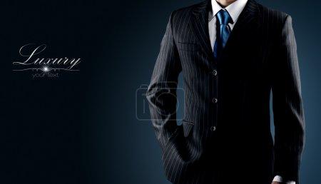 Foto de Empresario en un traje de lujo - Imagen libre de derechos