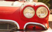 Retro autó fényszórói