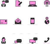 Communication icon series