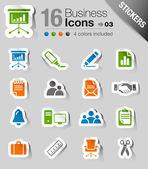 Samolepky - kanceláře a obchodní ikony