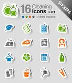 Samolepky - čištění ikony