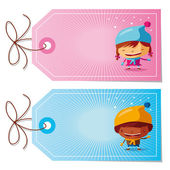 2 cute christmas gift tags