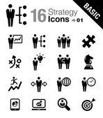 Základní - obchodní strategie a řízení ikony