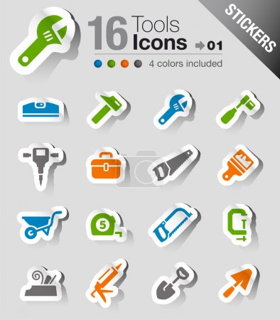 Stickers - Tools and Construction icons