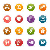 Colored Dots - Love and Dating icons