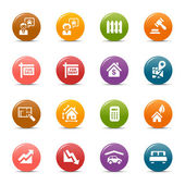 Colored Dots - Real estate icons