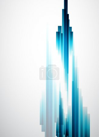 Illustration for Straight lines abstract vector background - Royalty Free Image