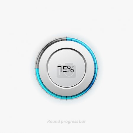 Clean round progress bar