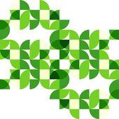 """Постер, картина, фотообои """"Зеленый современное геометрические абстрактный фон"""""""