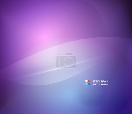 Illustration for Abstract blue purple background - Royalty Free Image