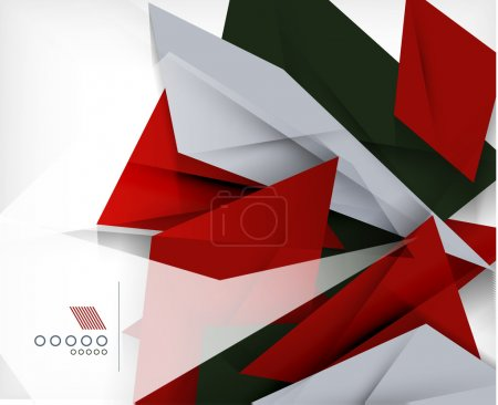 Illustration for Business geometric shape abstract background - Royalty Free Image