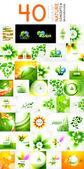 Vector mega set of nature concepts