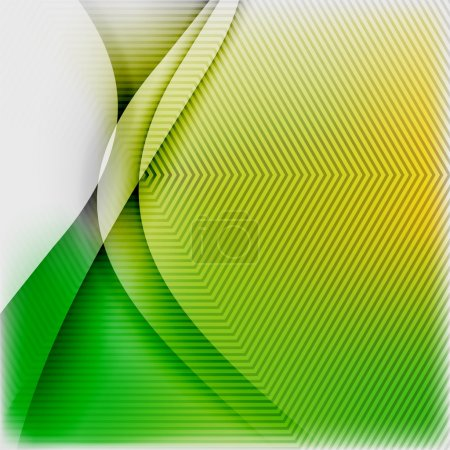 Illustration for Textured blurred color wave background. Futuristic hi-tech modern business or technology design template - Royalty Free Image