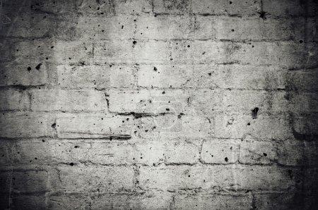 Dark Grunge Brick Wall Background
