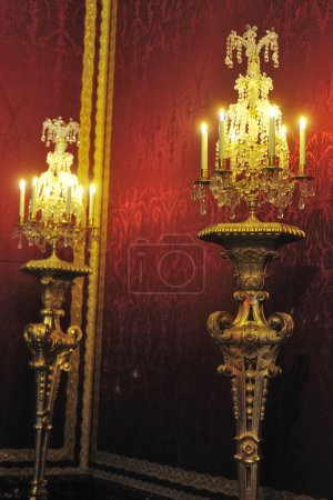 A pair of candlesticks of the castle of Versailles