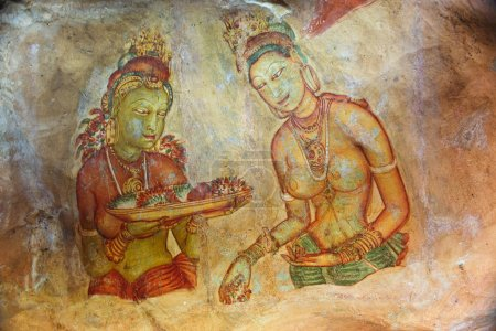 world famous frescos of ladies