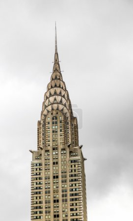 Facade of the Chrysler Building