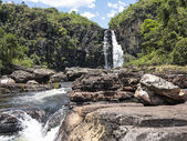 View of Caracol waterfall - Canela City, Rio Grande do Sul - Bra