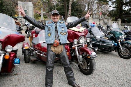 Harley Davidson sidecar Japan