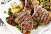 Lamb Cutlets Dinner