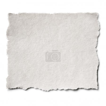 Photo for Torn blank paper with copy-space. - Royalty Free Image
