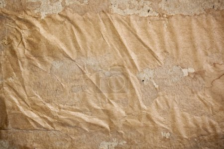 Photo pour Vieux fond de papier brun. Grandes textures et taches . - image libre de droit