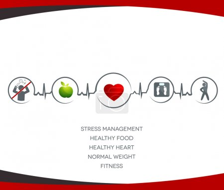 Healthy heart and Wellness